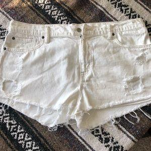 Denim & Supply Ralph Lauren distressed shorts